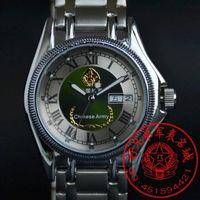 忠诚战士正品手表 中国陆军军表经典款 男士全自动机械表 夜光男表