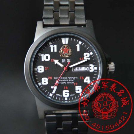 忠诚战士正品中国陆军军表人民解放军军表男士夜光SQ-H8033
